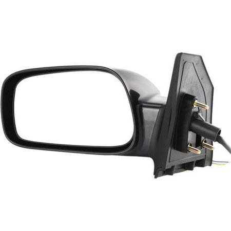 TY54EL Toyota Corolla CE Driver Side Power Primered Corner Mount Mirror, By Kool Vue from (Toyota Corolla Mirror Power Drivers)