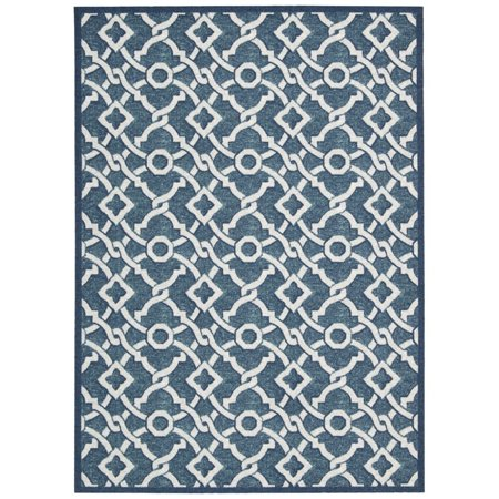 Nourison Waverly Treasures Artistic Twist Blue Jay Area Rug by (8' x 10')