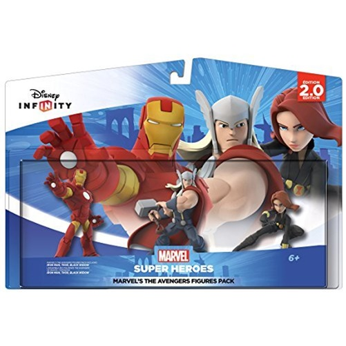 Disney Infinity 2.0: Marvel Super Heroes The Avengers Figure Pack by Disney