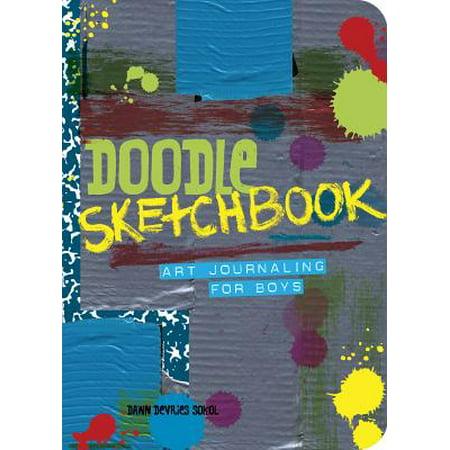 Doodle Sketchbook : Art Journaling for Boys ()