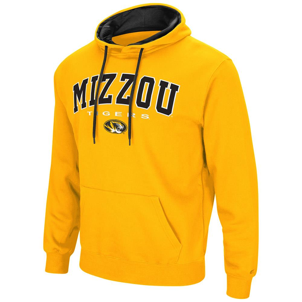Mens Missouri Tigers Pull-over Hoodie by Colosseum
