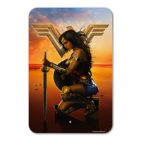 Wonder Woman Movie Poster Home Business Office Sign