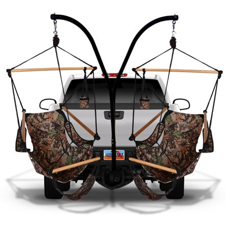 Hammaka Cradle Hammock Chairs with Trailer Hitch Stand