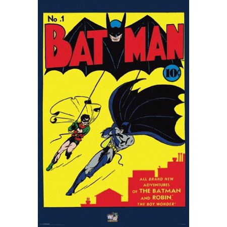 Batman (Comic No.1) Art Poster Print New 24x36