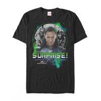 Marvel Men's Thor: Ragnarok Loki Surprise T-Shirt