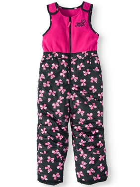 JoJo Siwa Bow Print Snowsuit/Ski Bib (Little Girls)