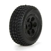 Front/Rear Premount Tire:(2) 1:24 4WD Torment