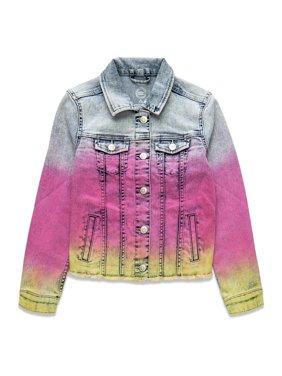 Wonder Nation Girls 4-18 & Plus Fashion Denim Jean Jacket