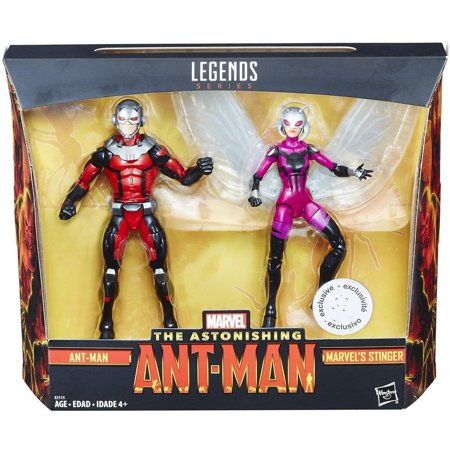 Marvel Legends Ant-Man & Stinger 6-Inch Action Figure 2-Pack (Toys