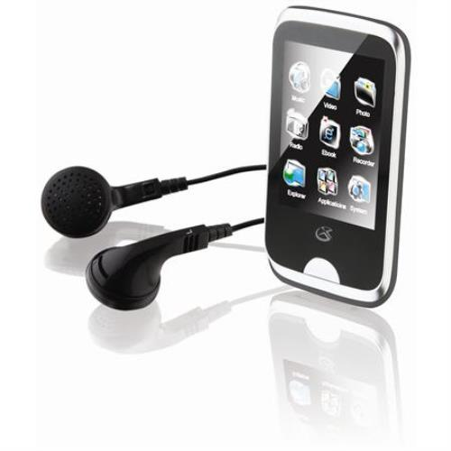 "GPX 8GB Digital Audio MP3 Player with 2.8"" Touchscreen by GPX"