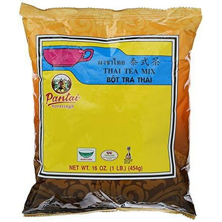 Thai Iced Tea Traditional Restaurant Style 16 oz (1LB.) Cylinder Style Iced Tea