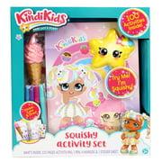 Kindi Kids Squishy Journal Activity Set - multi character, multicolored