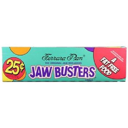 Product Of Ferrara Pan, 25C Jaw Busters, Count 24 (0.8 oz) - Sugar Candy / Grab Varieties & Flavors