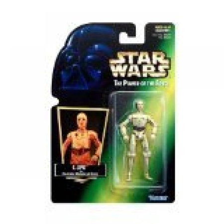 Hasbro Green - 1997 Hasbro Star Wars Power of the Force C-3po Green Card Action Figure