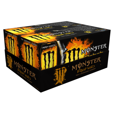 Xs Energy Drink Halloween (Monster Energy Drink, Rehab Tea + Lemonade + Energy, 15.5 Fl Oz, 20)