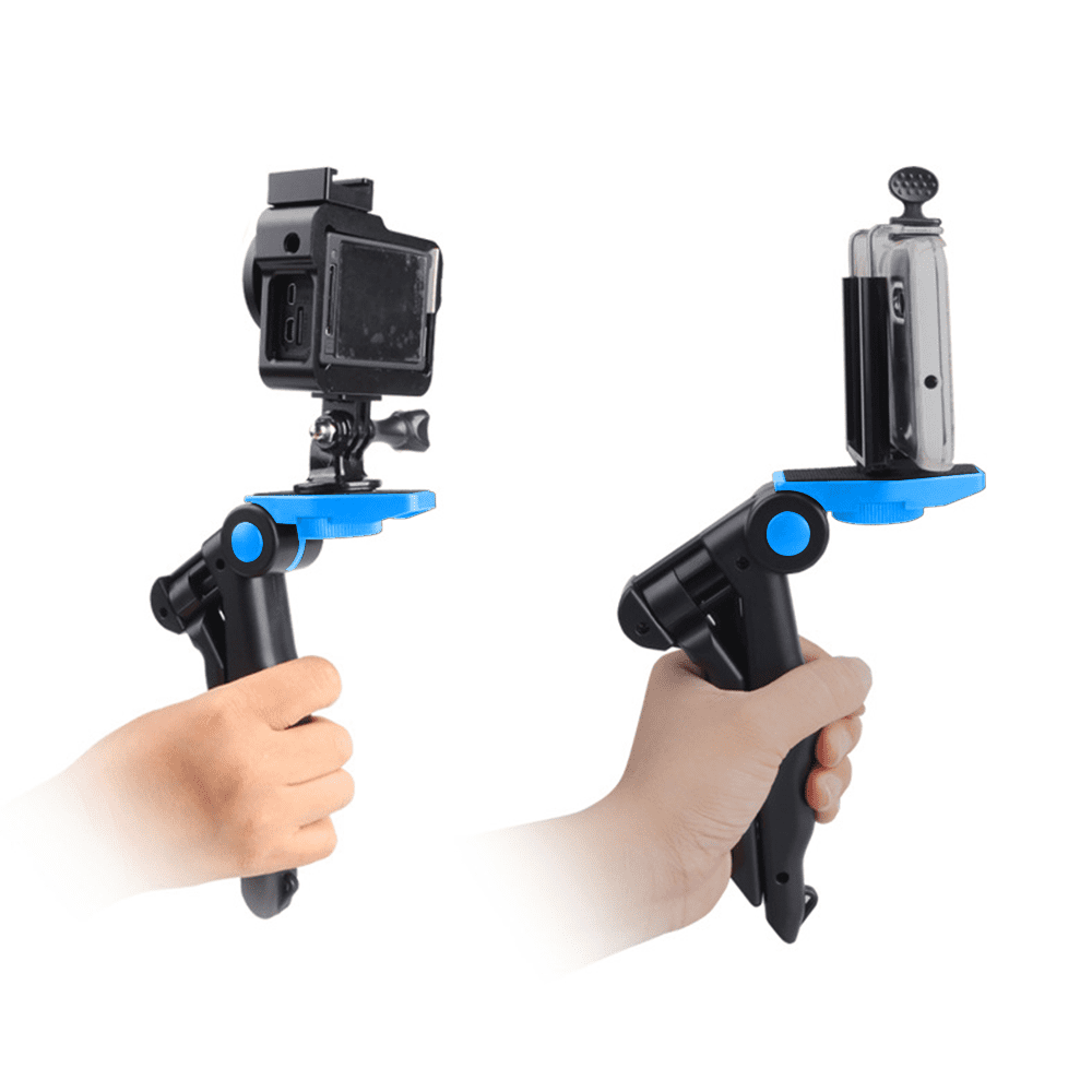 Updated 2019 Version Phone Tripod Sports Camera GoPro Camera Compatible with iPhone Android Phone Portable and Adjustable Camera Stand Holder with Universal Clip
