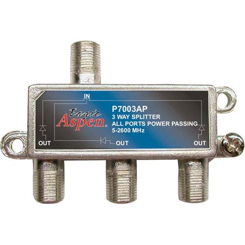 Eagle Aspen 500310 3-Way 2,600MHz Splitter
