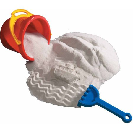 Soothing Sand (Sandtastik Play Sand, 25 Pound, Sparkling White)