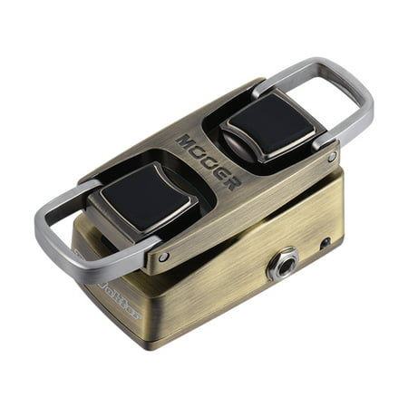 MOOER The Wahter Wah Guitar Effect Pedal Pressure Sensing Switch Full Metal Shell Bass Wah Effects Pedal