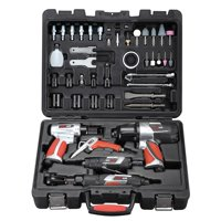 Professional Air Tools & Accessory Kit - 44 PC