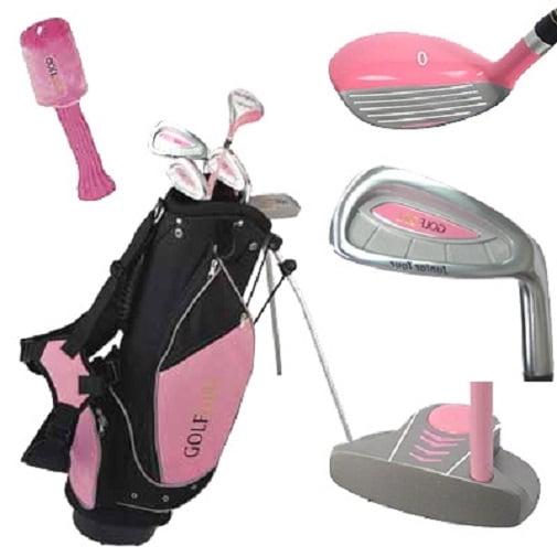 Golf Girl Junior Club Youth Set for Kids Ages 8-12 RH w/