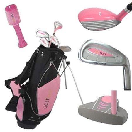Golf Girl Junior Club Youth Set For Kids Ages 8 12 Rh W