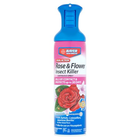 Bayer Advanced Dual Action Rose & Flower Insect Killer, 15.7 oz