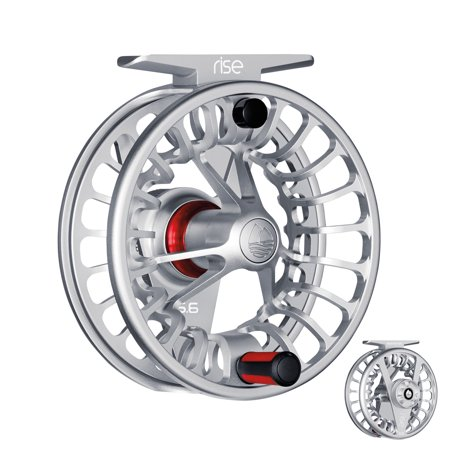 - Redington Rise III Fly Reels or Spools Ultra-Large Arbor Carbon Fiber Drag