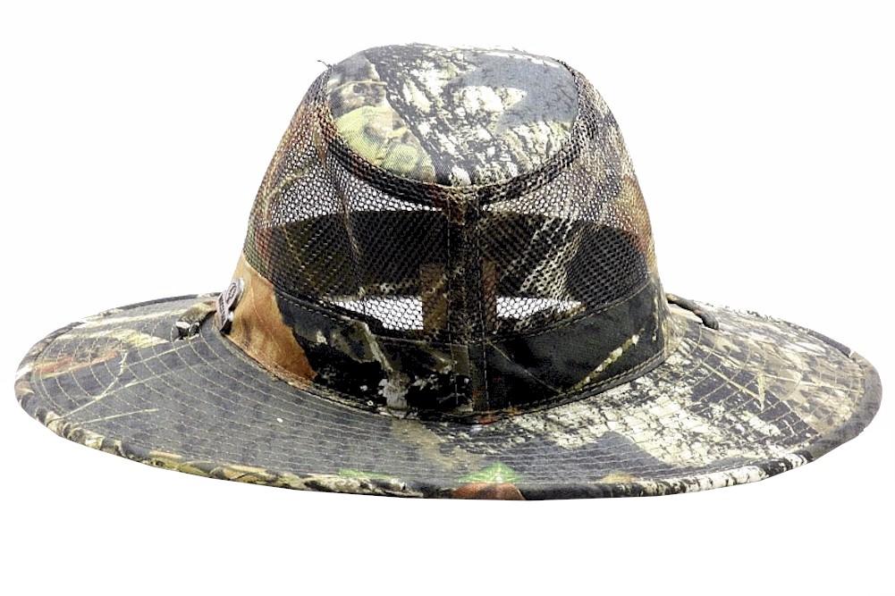 4fbecb4c8194d3 Mossy Oak Break-Up Camo Mesh Safari Hat - Walmart.com