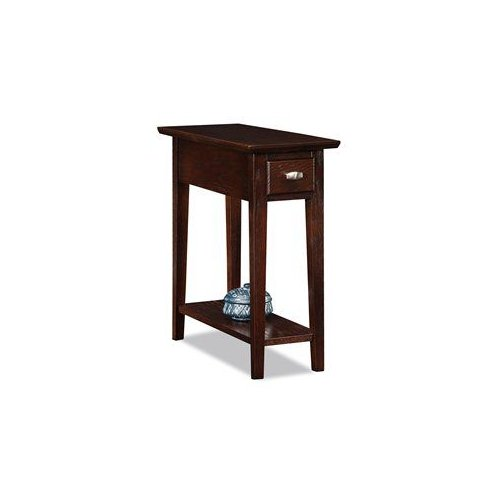 Leick 10071-CH Favorite Finds Chairside Recliner End Table by Brand New
