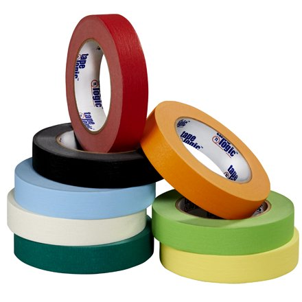 Masking Tape Case - T931003A Light Green 1/4 Inch x 60 yds. Tape Logic 4.9 Mil Masking Tape Made In USA CASE OF 144