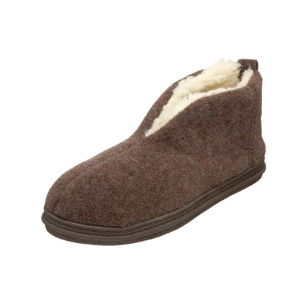 Tamarac Mens Dorm Fabric Closed Toe Slip On Slippers