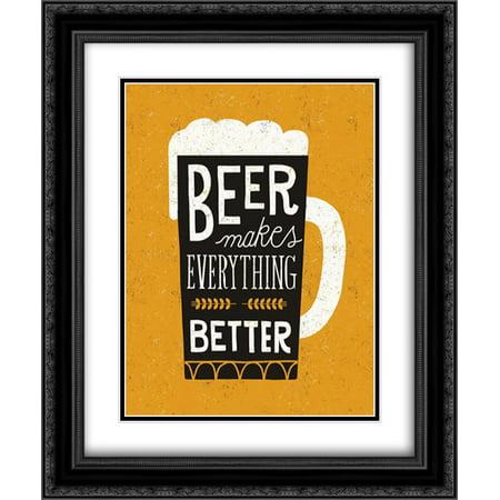 Craft Beer II 2x Matted 20x24 Black Ornate Framed Art Print by Mullan, Michael](Michaels Craft Shop)
