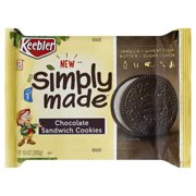 Keebler New Simply Made Chocolate Sandwich Cookies, 10 Oz.