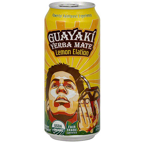 Guayaki Lemon Elation, 16 oz (Pack of 12)
