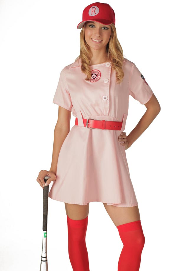 A League of Their Own Rockford Peaches Costume Deluxe Adult Movie Costume