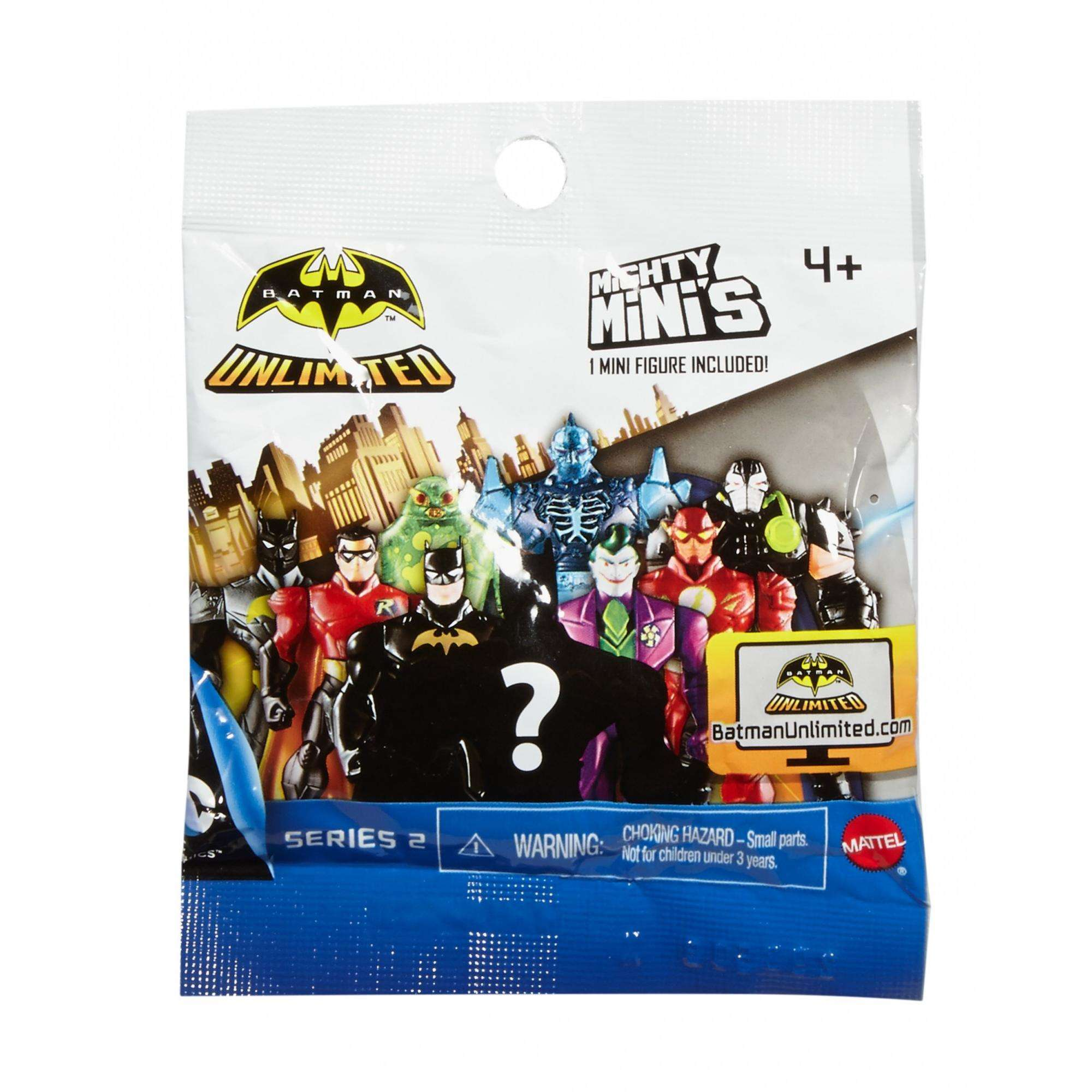 "Batman Unlimited Mighty Mini Figure Assortment Series II ""Item May Vary"" by Mattel"