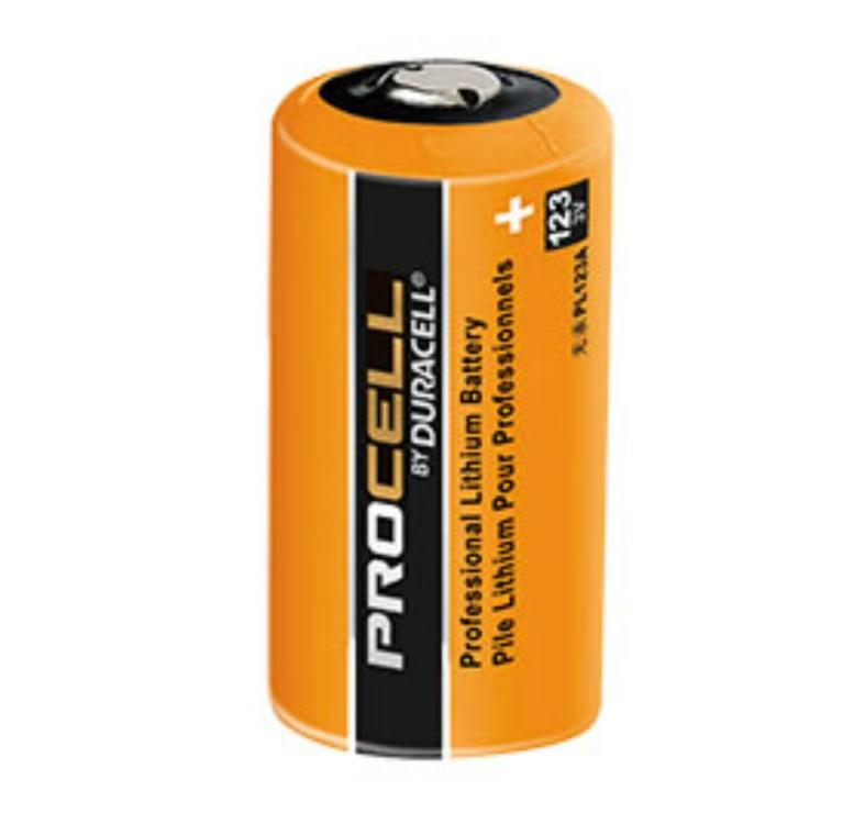 Duracell Procell PL123A 3.0V Photo Lithium Battery CR123 - 216 Pack + FREE SHIPPING