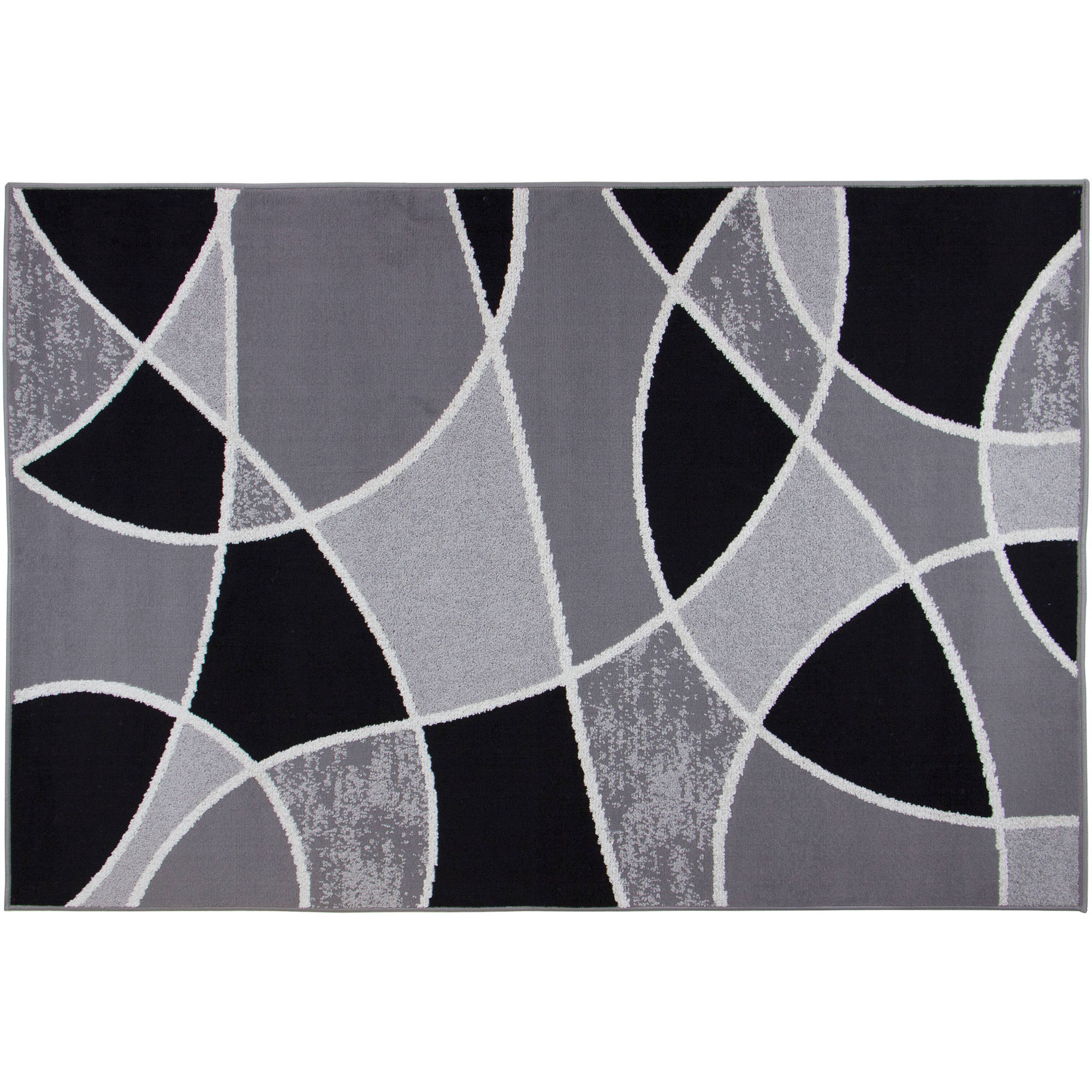 Mainstays Block Polypropylene Rug