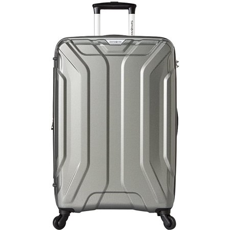 Samsonite Englewood 25 Inch Expandable Hardside Checked Spinner Luggage