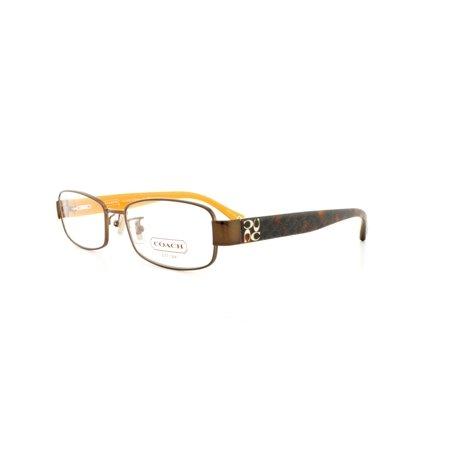 8b2ac6a437dc1 COACH Eyeglasses HC 5001 9023 Brown 52MM - Walmart.com