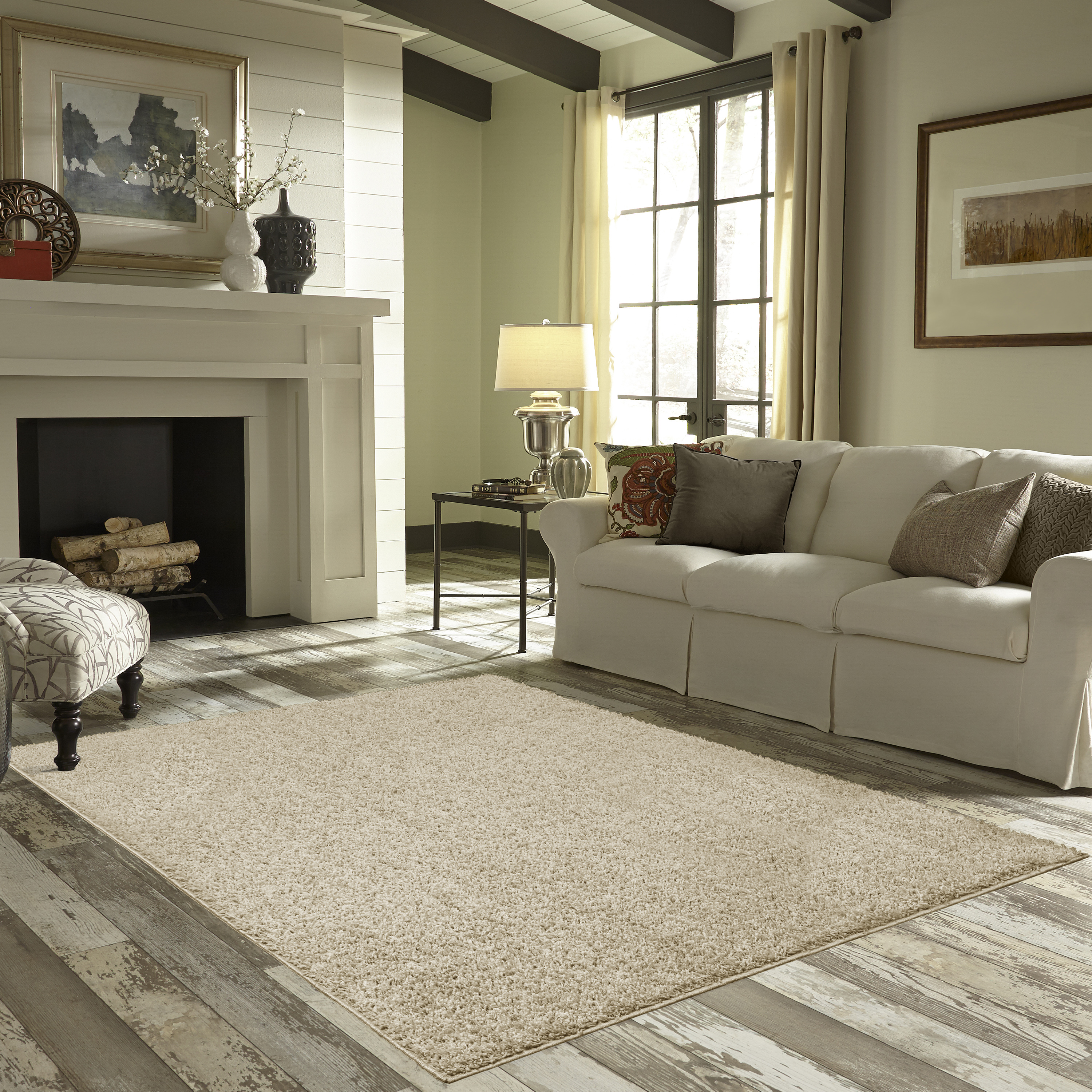 Great Mainstays Manchester Shag Area Rug Or Runner Image 1 Of 3