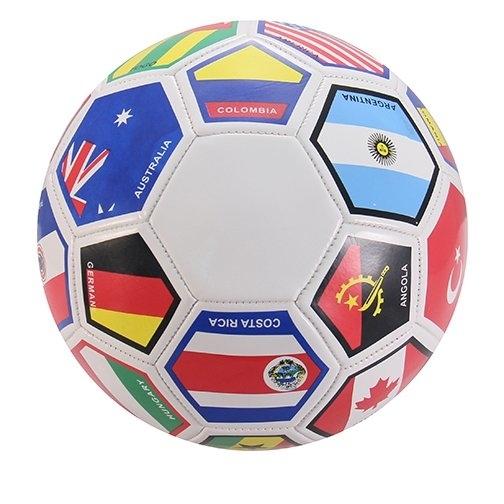 PremiumConnection International Flags Regulation Size Soccer Ball