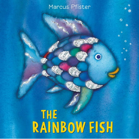 The Rainbow Fish (Board Book) - Opposites Childrens Board Books