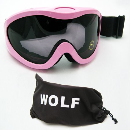 Lady Goggles - Ski Snow Goggles Snowboard Glasses Skiing Sports Adult Womens Lens Snow Pink New