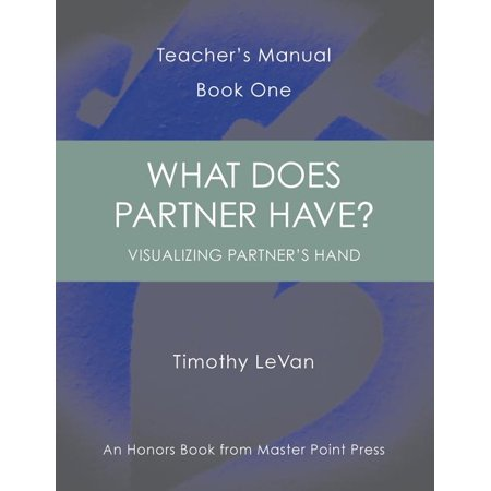 What Does Partner Have? : Teacher's Manual Book One