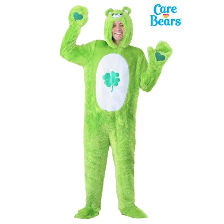 Care Bears Adult Classic Good Luck Bear Costume](Mens Care Bear Costume)