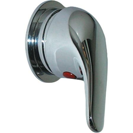 Trim Hose (Scandvik 10479 Single Lever Shower Mixer Valve with Compact Trim Ring and 3 1/2