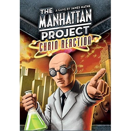 The Manhattan Project Chain Reaction Board - Chemical Reaction Games