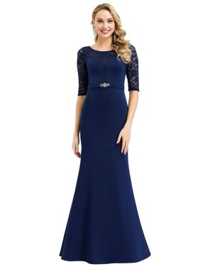 Ever-Pretty Womens Elegant 0 Neck Bodycon Evening Party Prom Dresses for Women 00994 US4